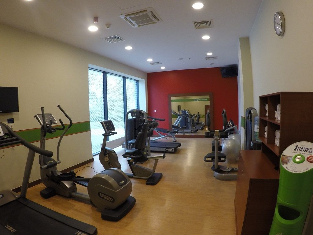 Hampton by Hilton Warsaw Airport - fitness center