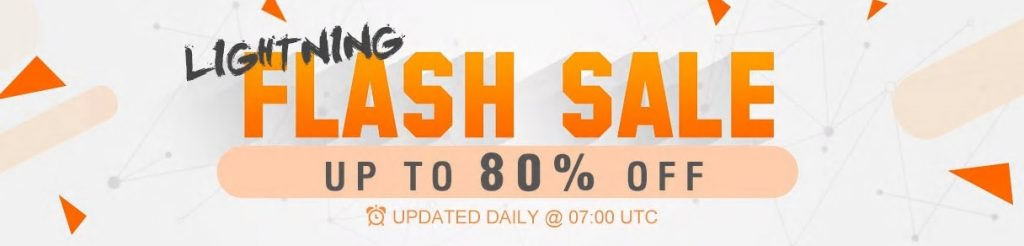 Lighting Flash Sale - promocja na GearBest