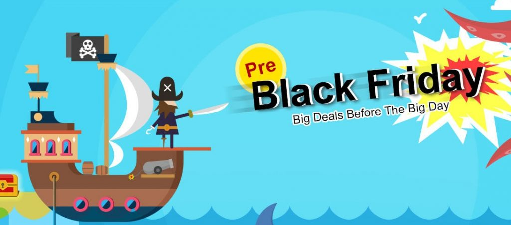 Black Friday 2017 na Banggood.com - Pre Black Friday