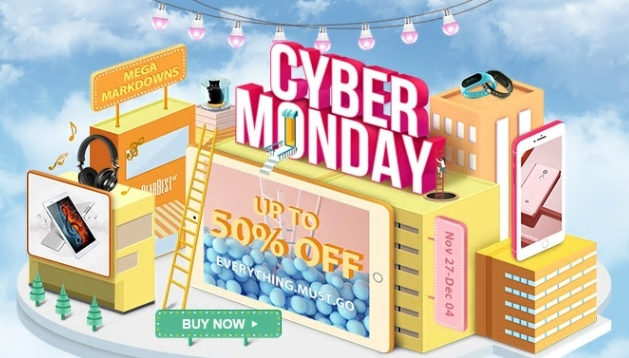 Cyber Monday na Gearbest