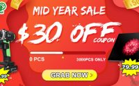 mid-year sale banggood - coupons