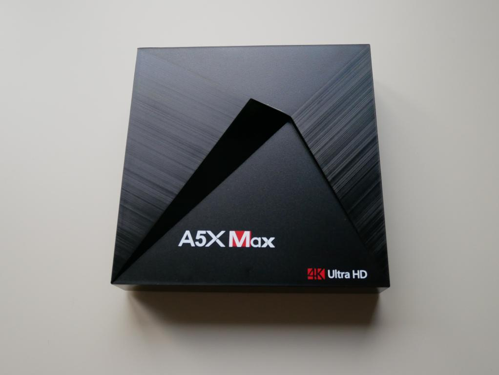 A5X Max - recenzja TV Boxa z Chin - TV Box