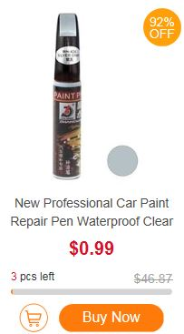 7. urodziny Geekbuying.com - konkursy i kody rabatowe - flash deals - car paint repair pen