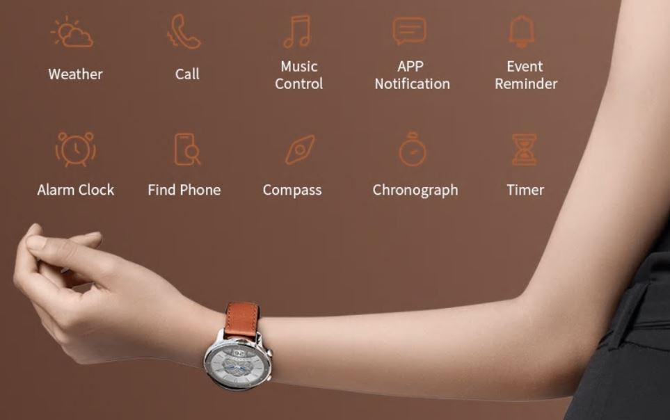 Smart Watch Amazfit GTR z Gearbest - funkcje