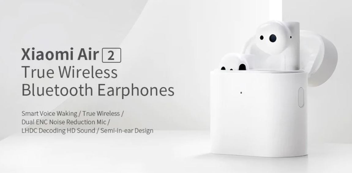 Black Friday 2019 w geekbuying.com - Xiaomi Air 2 - słuchawki bluetooth