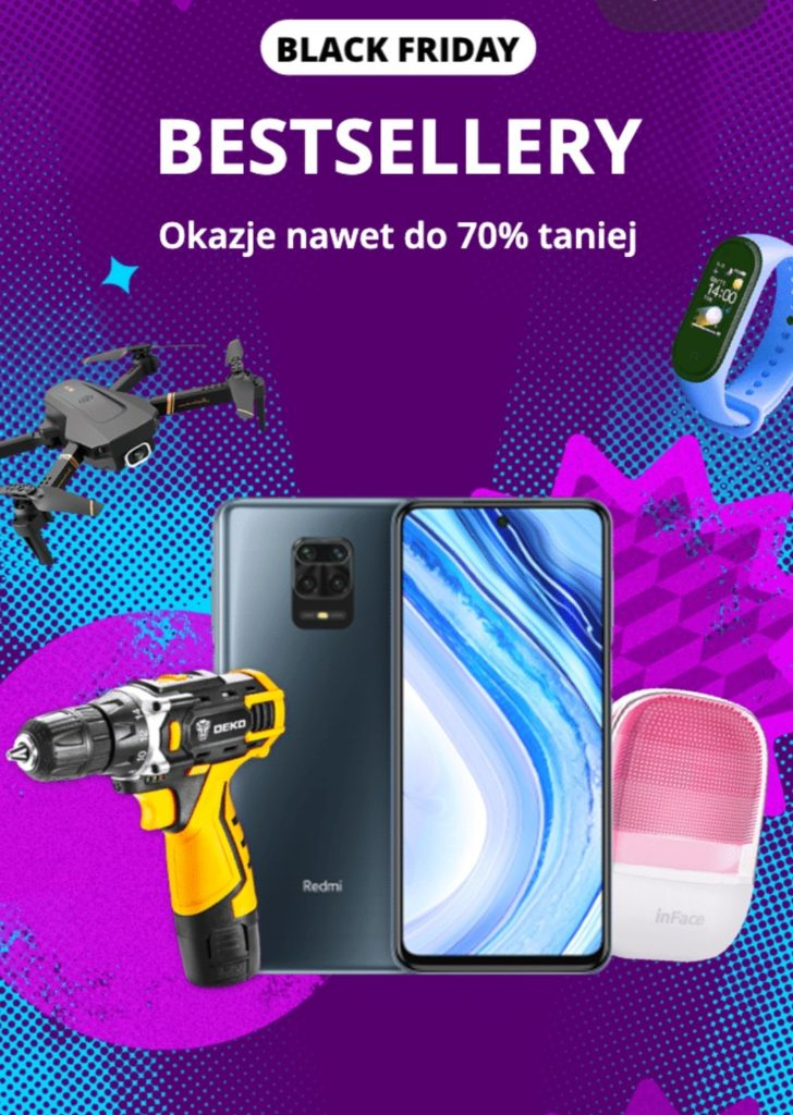 Kody rabatowe na Black Friday 2020 w Aliexpress