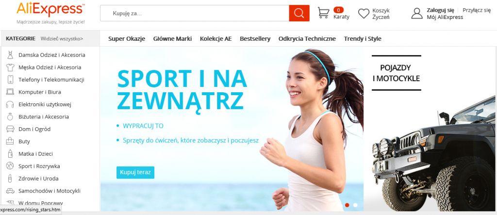 aliexpress polska wersja