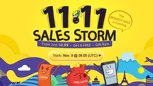 Sale Storm na Gearbest
