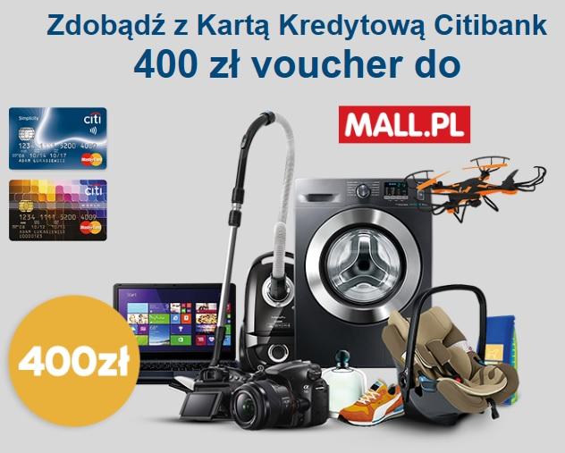 400 zł na zakupy w mall.pl