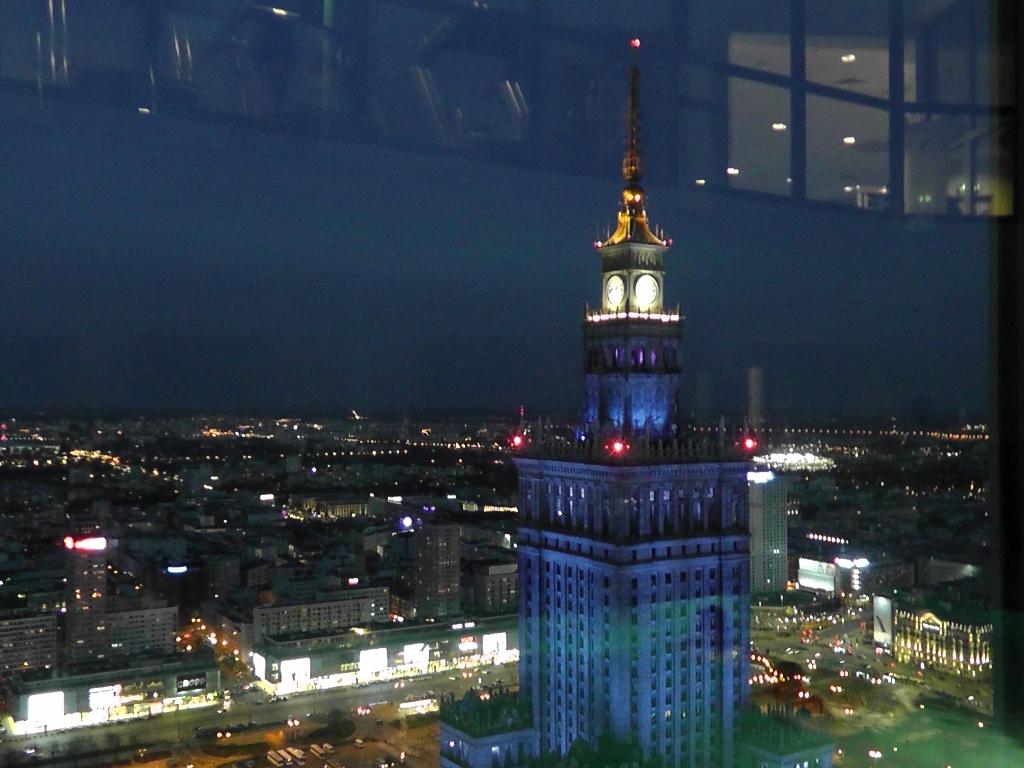 Intercontinental Warszawa widok z basenu