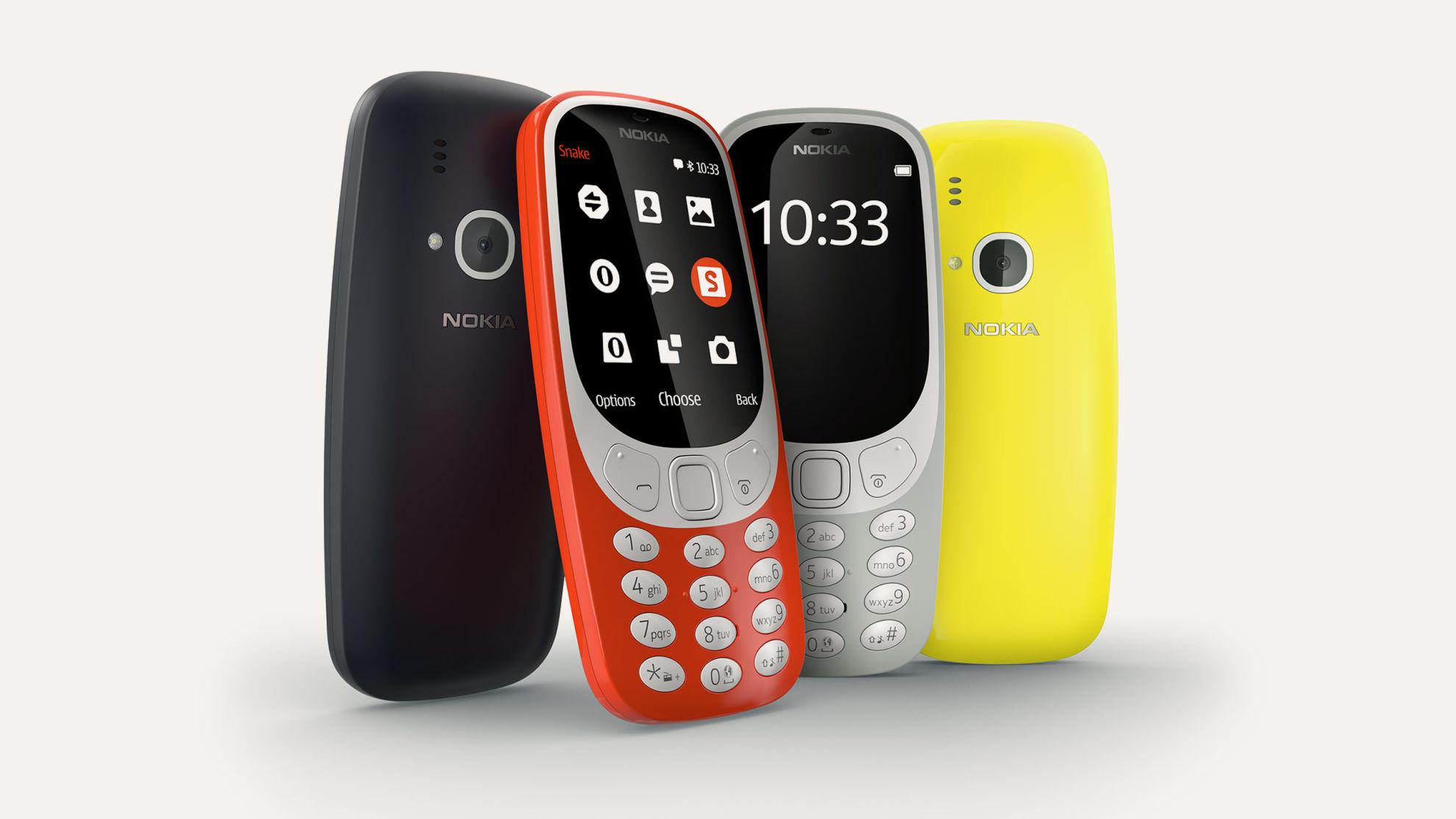Nokia 3310 w nowej odsłonie
