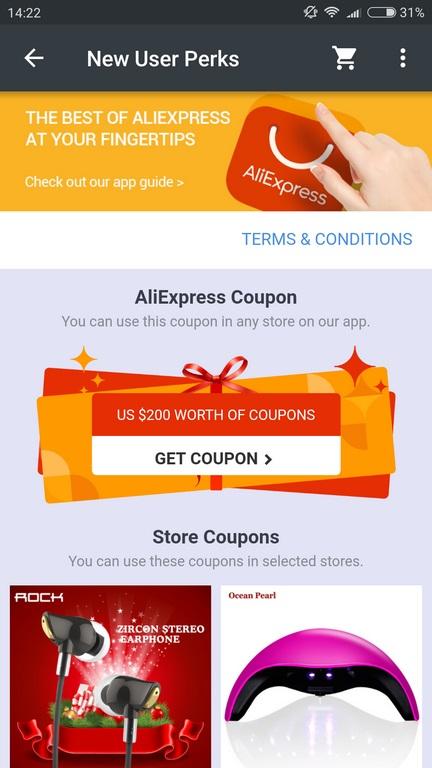 Aplikacja Aliexpress App - Aliexpress na komórki