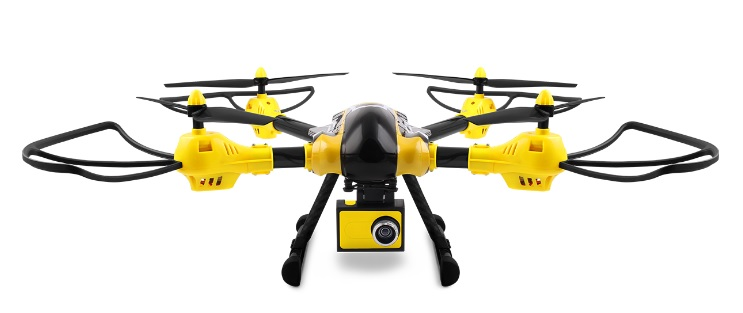 X-bee drone 7.1 - 10 najlepszych dronów do 1000 zł