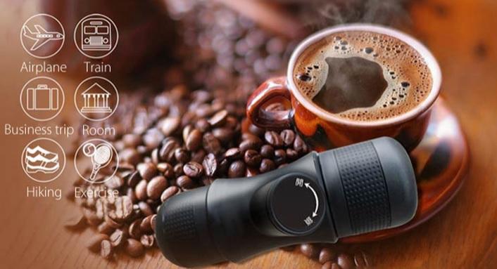 Przenośny ekspress do espresso z Aliexpress
