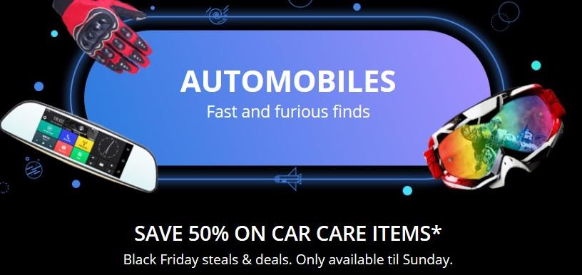 Black Friday 2017 na Aliexpress.com - akcesoria samochodowe