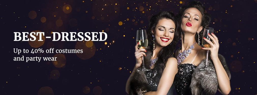 przedświateczne promocje na Aliexpress - sukienki na sylwestra i karnawał
