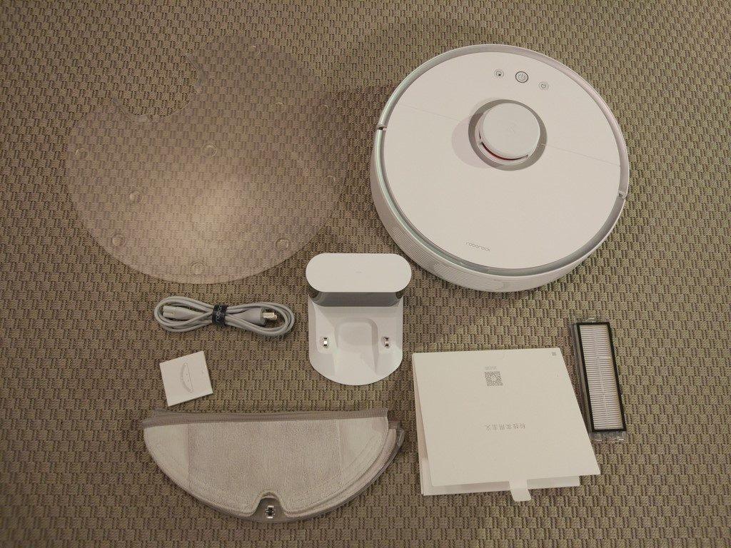 Recenzja Roborock S50 (Xiaomi Mi Robota Drugiej Generacji) - zawartość pudełka