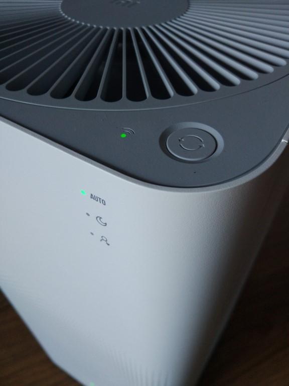 Xiaomi Mi Air Purifier 2 - tani oczyszczacz powietrza z Chin - wskaźniki trybu pracy