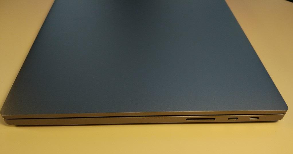 Xiaomi Mi Notebook Pro - recenzja chińskiego MacBooka - panel prawy