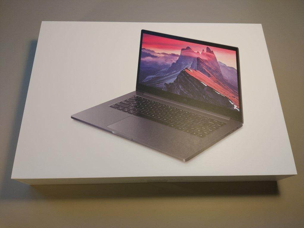 Xiaomi Mi Notebook Pro - recenzja chińskiego MacBooka - pudełko z laptopem