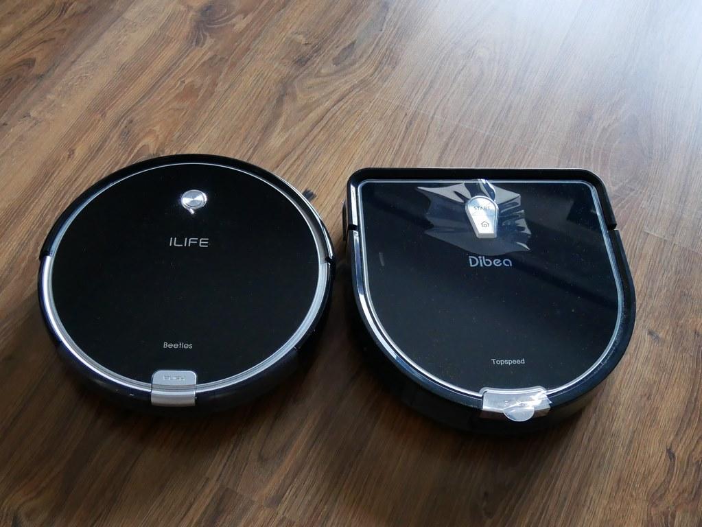 bezprzeplacania.pl - robot odkurzający Dibea D960 - porównanie z iLife A6