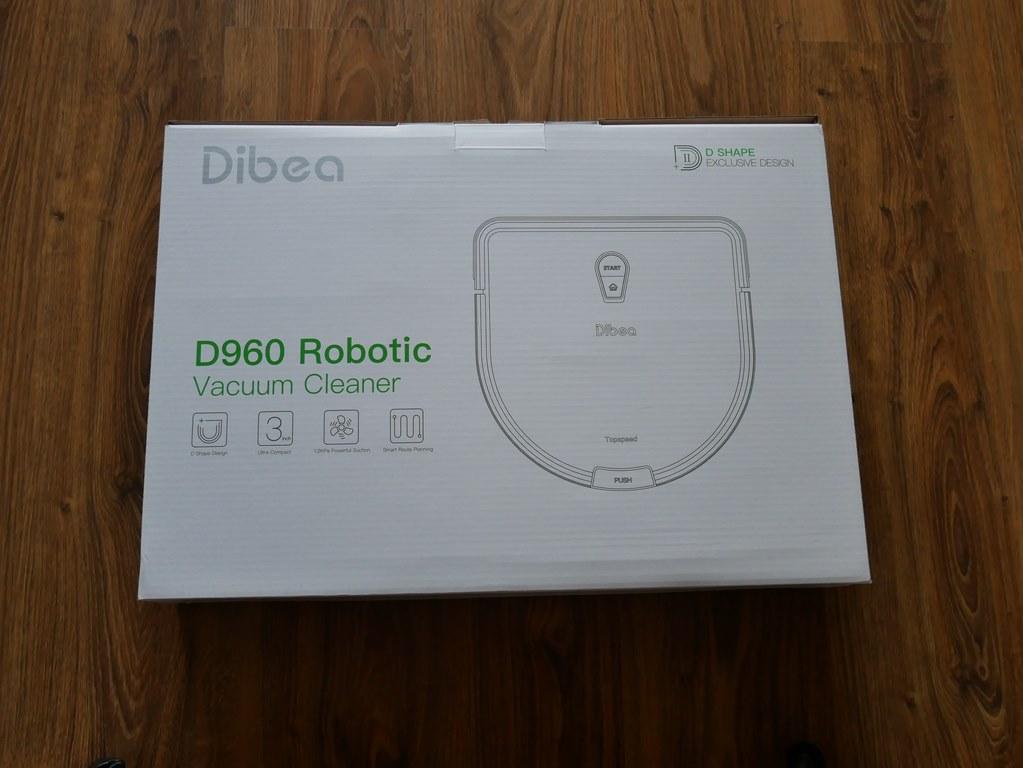 bezprzeplacania.pl - robot odkurzający Dibea D960 - pudełko