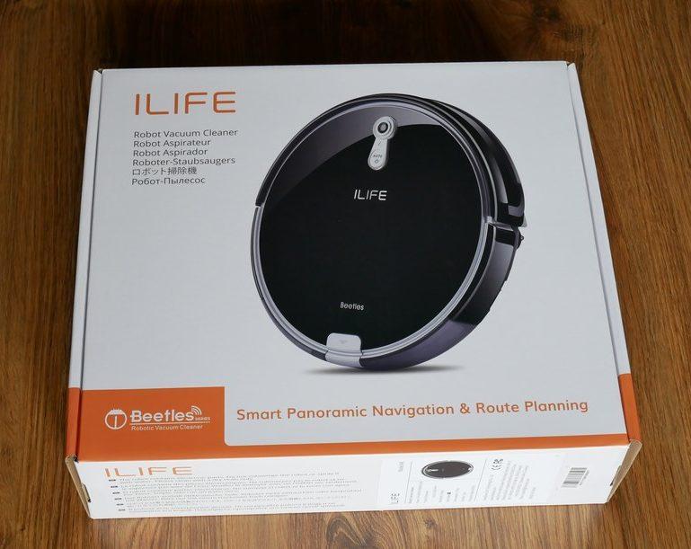 iLife A8 - recenzja robota odkurzającego z mapowaniem pomieszczeń - pudełko