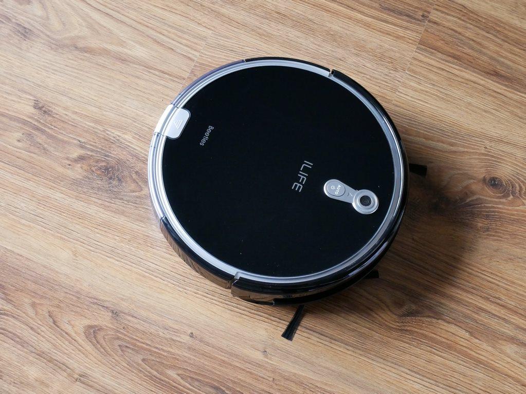 iLife A8 - recenzja robota odkurzającego z mapowaniem pomieszczeń - robot