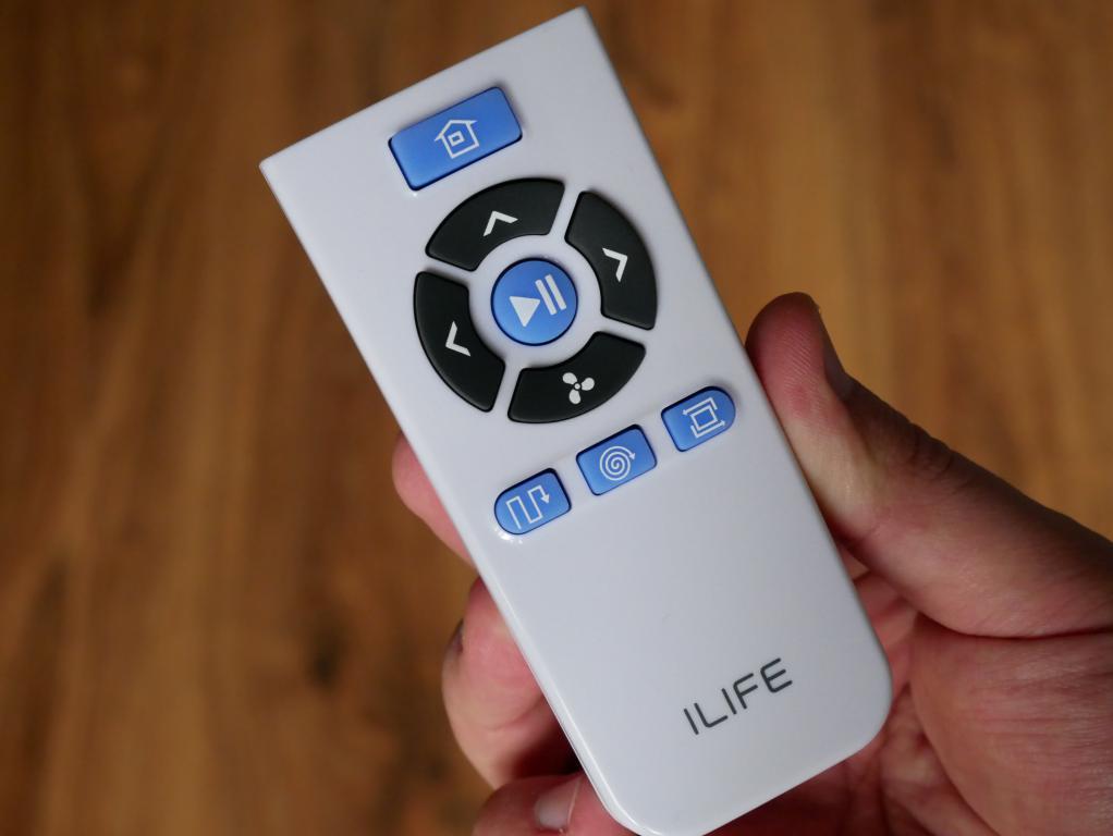 recenzja iLife V8S - pilot