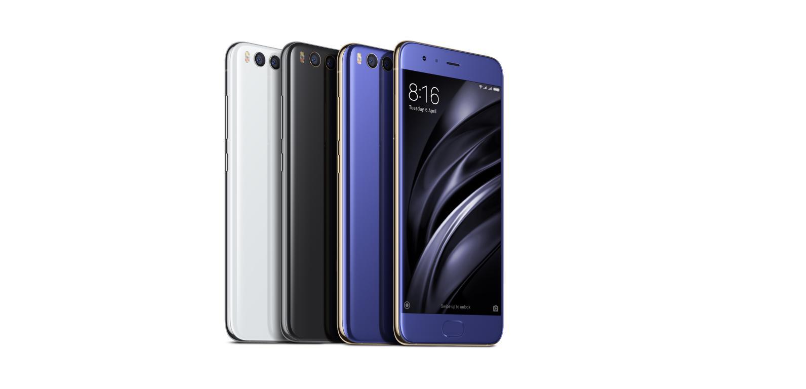Ranking chińskich smartfonów [Top 10] - Xiaomi Mi6