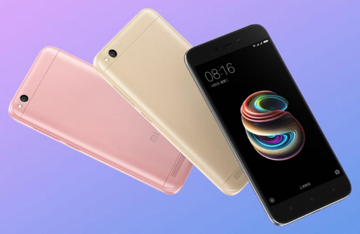 Ranking chińskich smartfonów [Top 10] - Xiaomi Redmi 5A