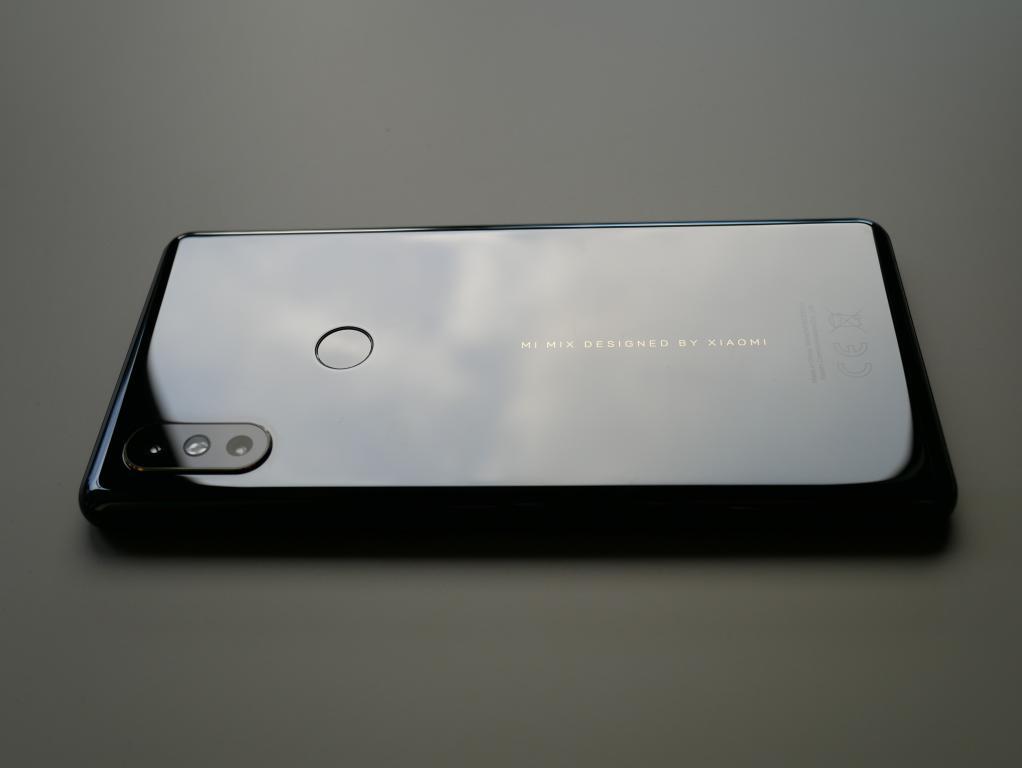 Xiaomi Mi Mix 2s - recenzja - tył telefonu