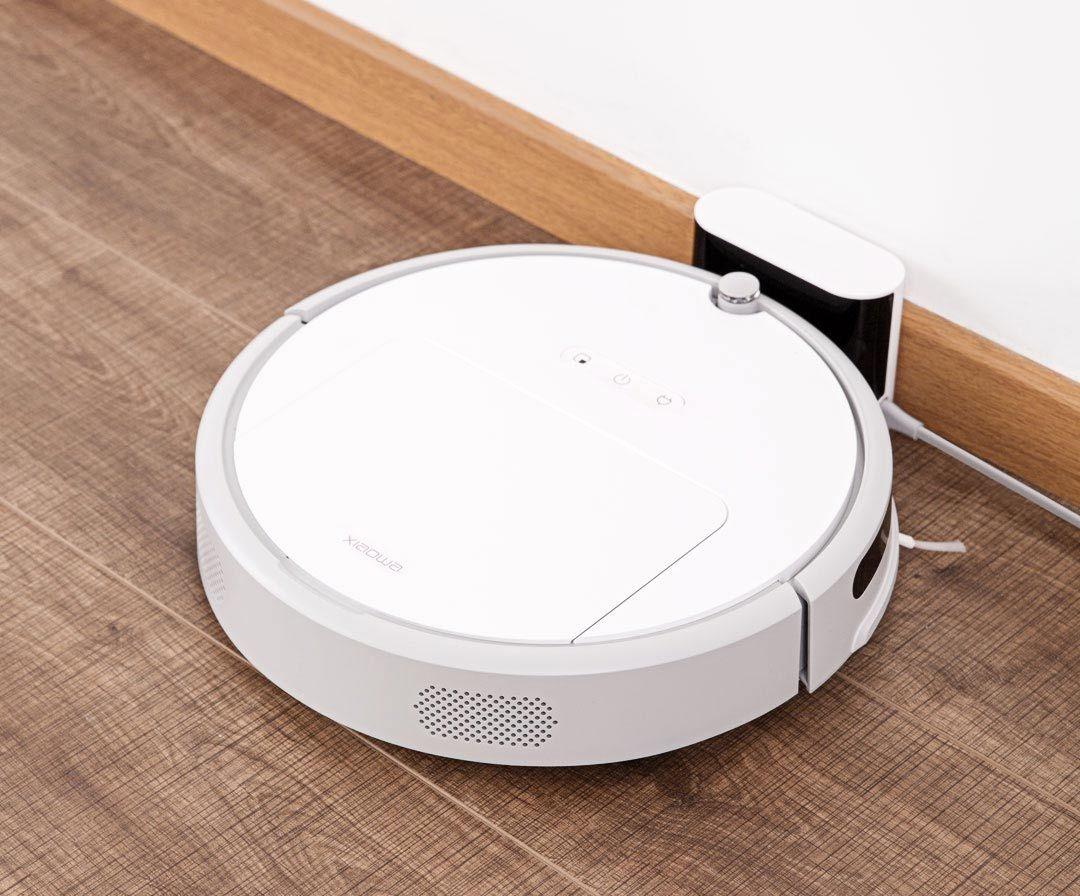 bezprzeplacania.pl - Xiaowa - budżetowy robot odkurzający od Xiaomi w świetnej cenie - ładowanie