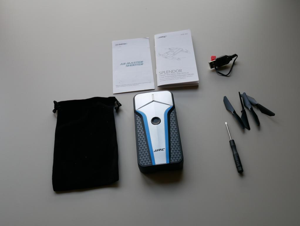 zawartość pudełka - recenzja JJRC H62 Splendor