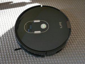 iLife A7 - recenzja robota sprzatającego sterowanego smartfonem - wygląd robota