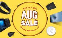 AUG Sale - sierpniowa promocja geekbuying