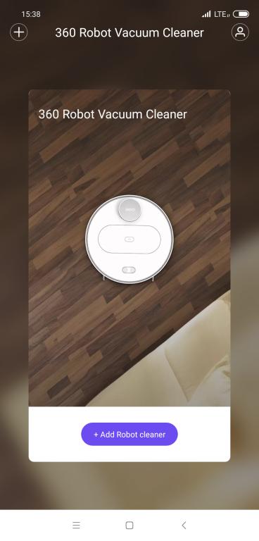Recenzja 360 S6 - robota odkurzającego z mopowaniem - dodawanie robota w aplikacji