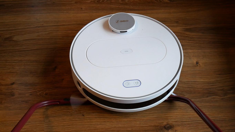 Recenzja 360 S6 - robota odkurzającego z mopowaniem - problemy z progami