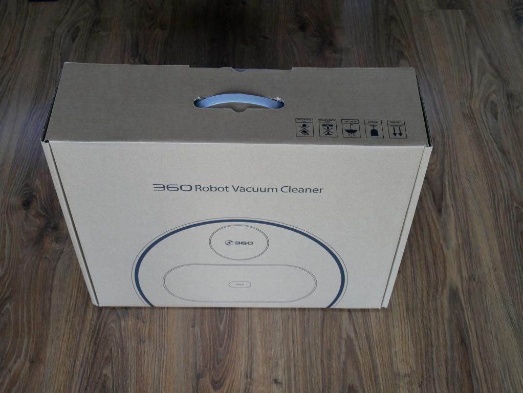 Recenzja 360 S6 - robota odkurzającego z mopowaniem - pudełko