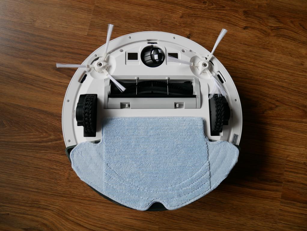Recenzja 360 S6 - robota odkurzającego z mopowaniem - robot z mopem