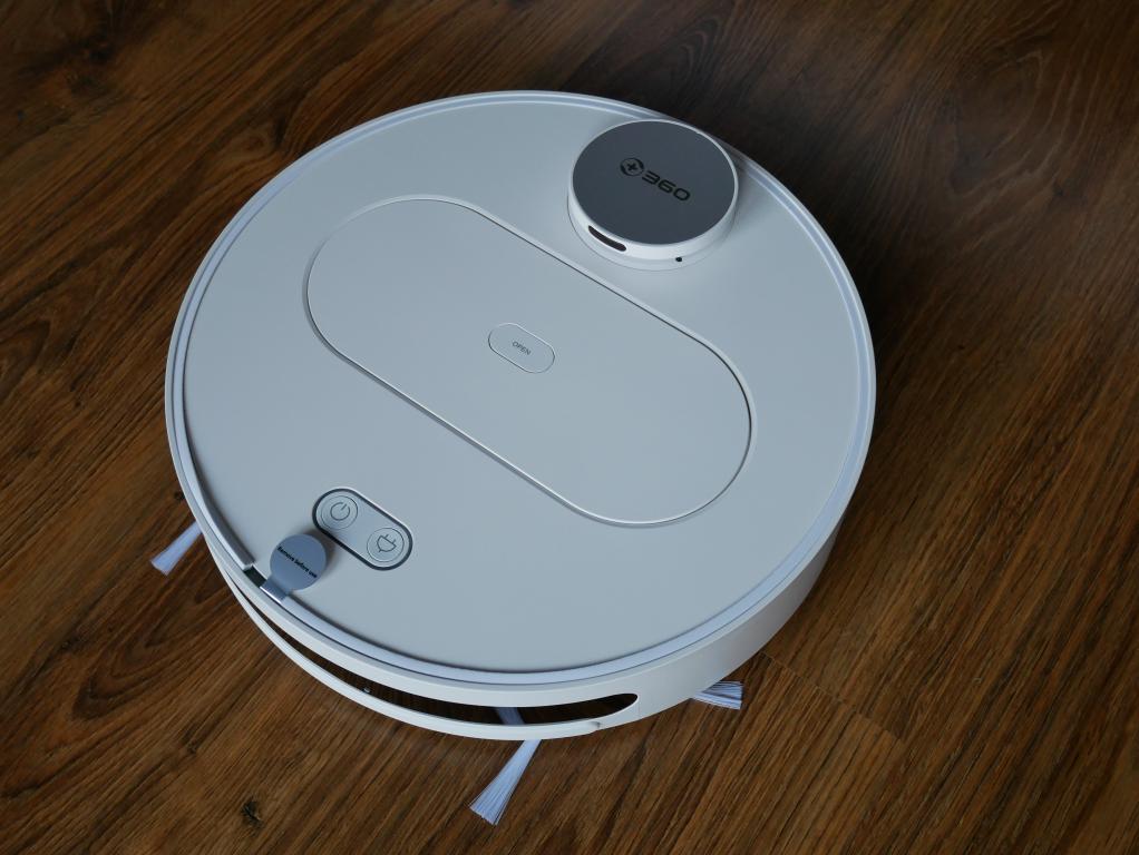 Recenzja 360 S6 - robota odkurzającego z mopowaniem - robot