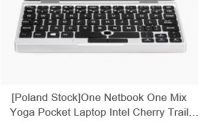 Cyber Monday w geekbuying - Netbook One Mix Yoga Pocket Laptop