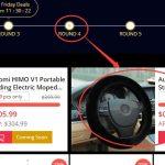 Finał promocji Black Friday w geekbuying - osłona na kierownicę za $0,01