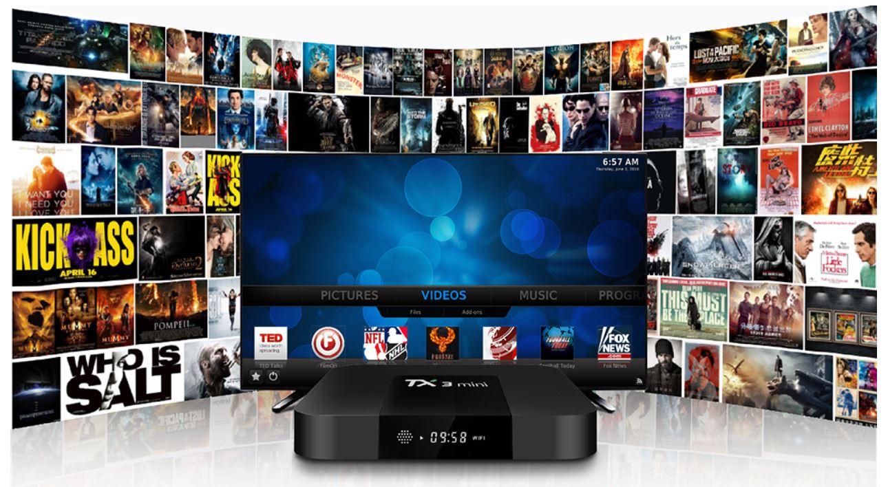 Tanix TX3 Mini - niedrogi TV Box z bezpłatną dostawą z Niemiec - programy telewizyjne