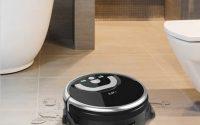 iLife W400 - premiera robota do mycia podłóg - zmywanie wody