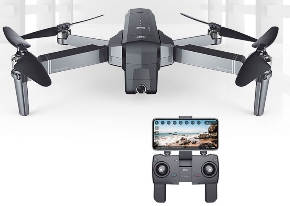 Dron SJRC F11 - kod rabatowy na banggood