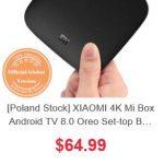 Promocja chińskich TV Boxów z dostawą z Europy - Xiaomi Mi Box