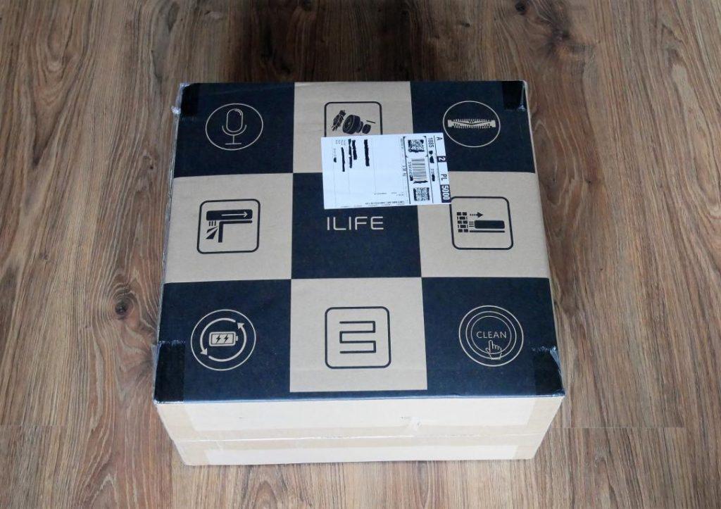 iLife W400 - recenzja robota do mycia podłóg - paczka z Aliexpress