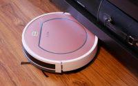 iLife V7S Plus - recenzja robota odkurzającego z mopem - wjeżdżanie pod meble