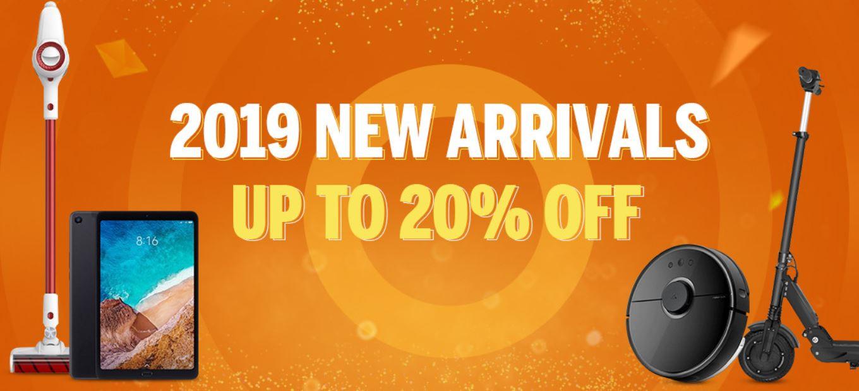 nowe dostawy i nowe promocje na 2019 rok w geekmaxi